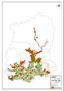 Image-ICDS Map of Sikkim