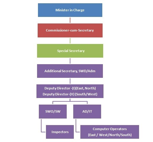 Image-Organization Chart of Social Welfare Division
